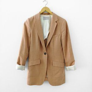 H&M Blazer | Nude / Dusty Pink / Peach Color